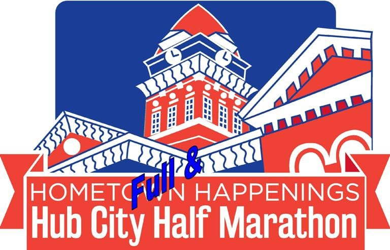 Hub City Full and Half Marathon by Hometown Happenings