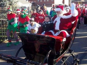 Santa takes time out of his schedule for the Santa Walk & Run, one of our themed runs & walks.