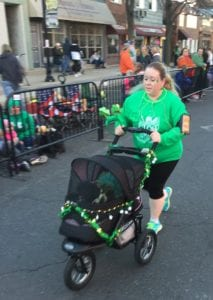 Strollers are welcome at the Glow Irish 1, 2 & 3 Miler.